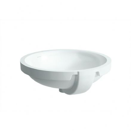 818961- Laufen Pro 420mm x 420mm Built-in Washbasin - 8.1896.1